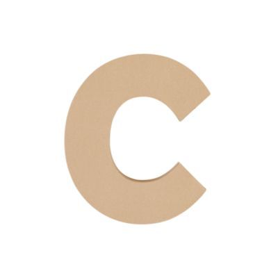 c+ paper  Large C Crafty Kraft Paper