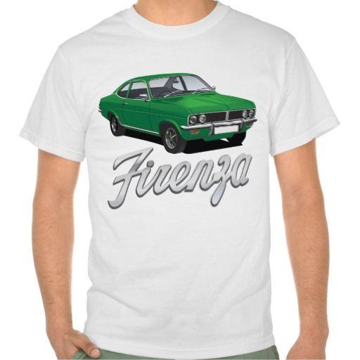 Vauxhall Firenza green with text  #vauxhall #firenza #vauxhallfirenza #automobile #tshirt #tshirts #70s #classic
