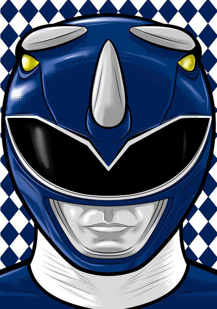 Blue Ranger by Thuddleston.deviantart.com on @deviantART