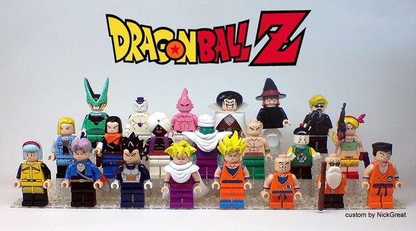 Un fan de Dragon Ball Z crée les personnages en version LEGO