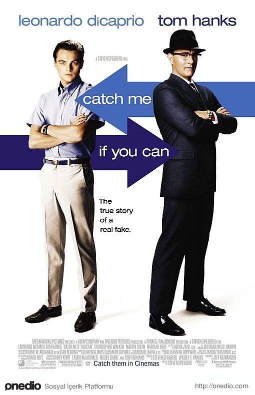 15- Catch Me If You Can - Sıkıysa Yakala(2002)