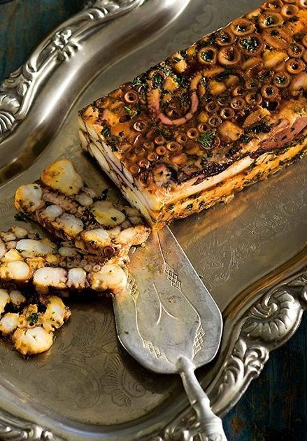 OCTOPUS TERRINE [gourmettraveller.]