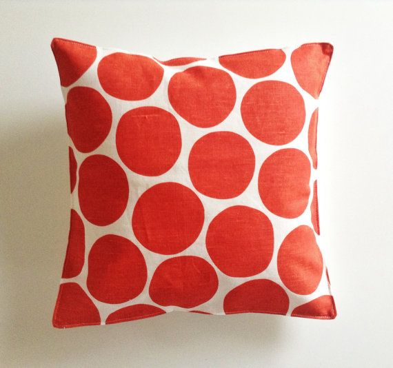 Scandinavian large spot children's cushion cover Spira by iciri
