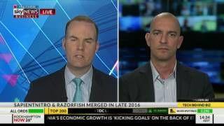 Sky Business News Australia  Marcos Kurowski GVP & MD SapientRazorfish Australia & New Zealand