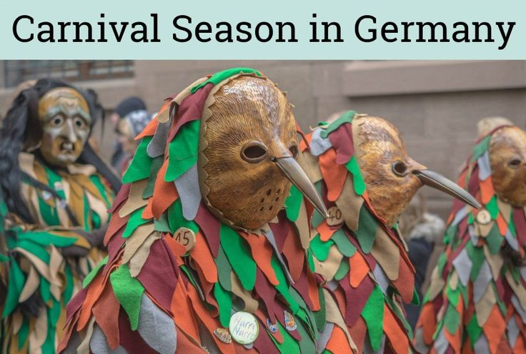 Carnival Season in Germany- all about Fasching, Karneval and Fastnacht - Kaffee und Kuchen | www.kaffeeundkuchen.co