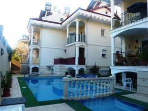 2-Duplex-apartment-For-Sale-In-Hisaronu-pool