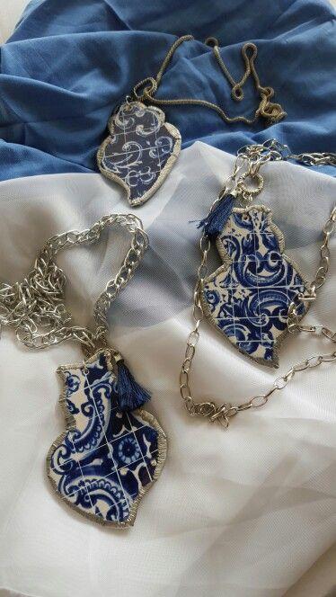 Joalharia em Azulejo  Coração de Viana  Hand Made