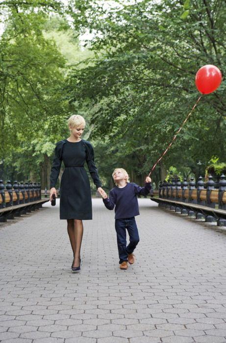 Mother and son bonding time!    #bonding #beautiful #balloon
