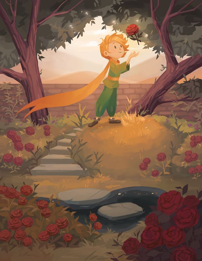 Little Prince: His Rose by CitrusFoam on DeviantArt