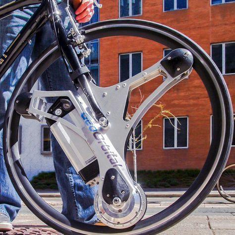 GeoOrbital Wheel Electric Bike Wheel #bike, #electric, #ingenious, #wheel