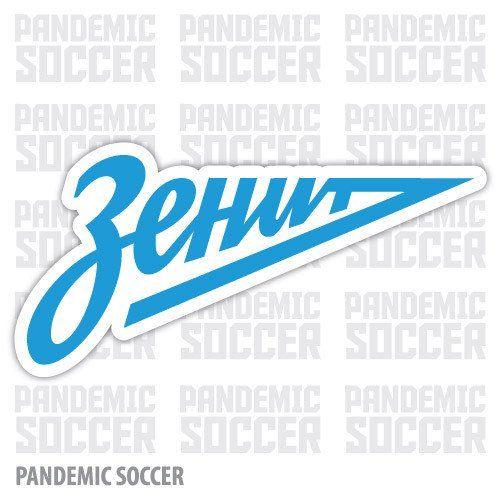 Zenit Saint Petersburg Russia Vinyl Sticker Decal