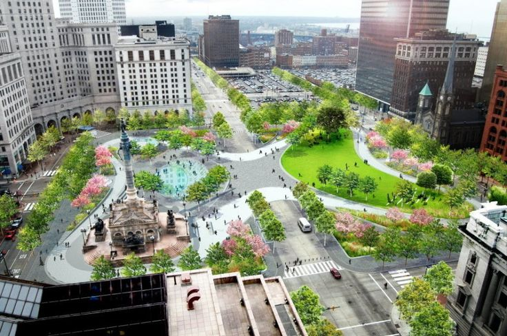 Public Square renovation starting Monday signals a paradigm shift for public space in Cleveland (photos) | cleveland.com