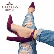 Zapatos de Tacón alto de Las Mujeres Zapatos de Verano Mujer Bombas de Las Señoras Sexy Tacones Gruesos Atan Para Arriba Los Zapatos de Plataforma Negro Rojo Gris # Y0605780Q(China (Mainland))