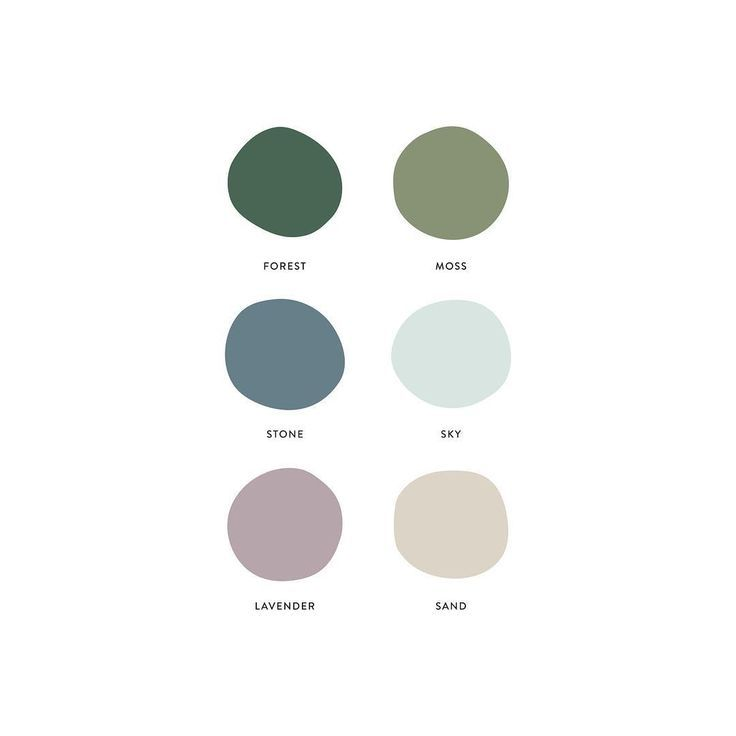 Cozy client palette that feels a bit like spring i…