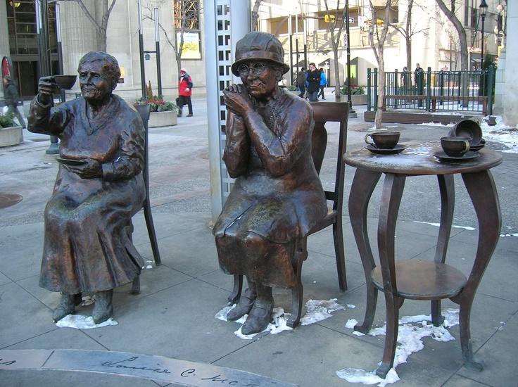 Calgary - Old ladies drinking tea