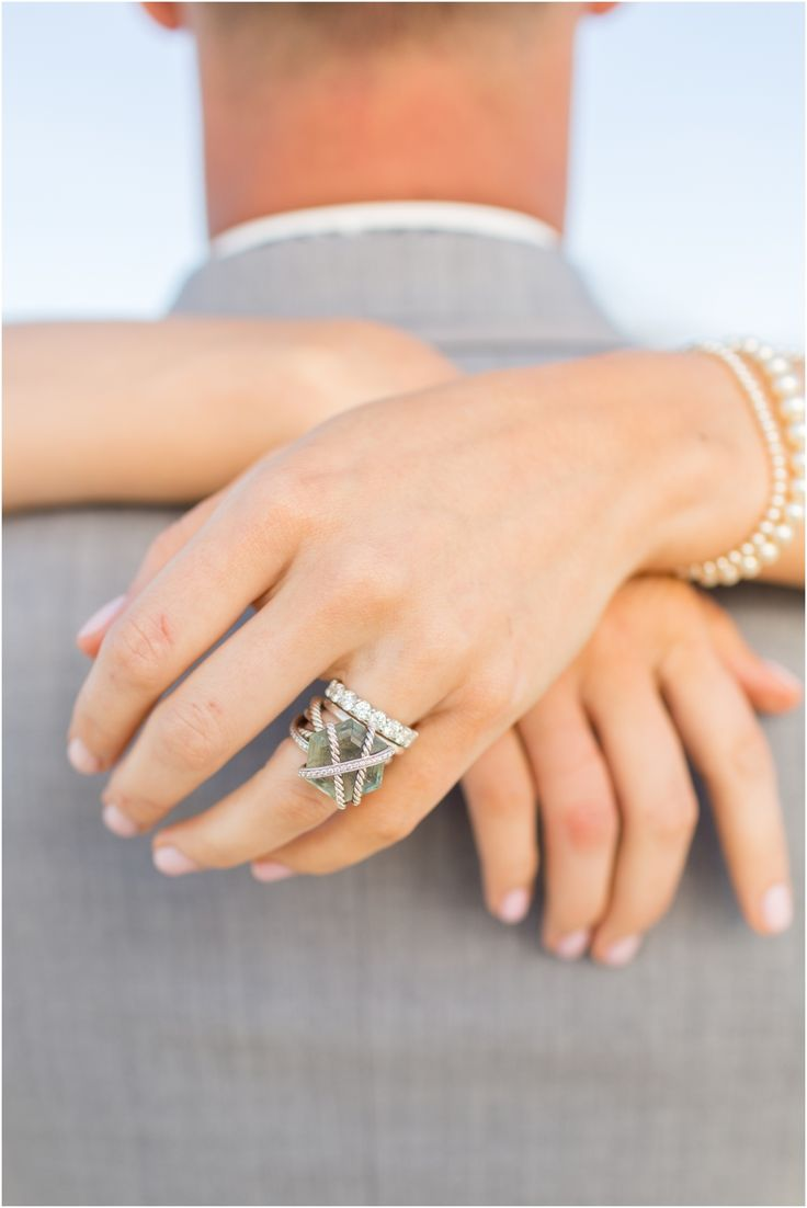 Outer Banks Beach Wedding Photography  Anna Grace Photography  David  Yurman Engagement Ring