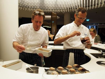 Phil Howard, of The Square, at Nespresso Boutique | In pursuit of food...