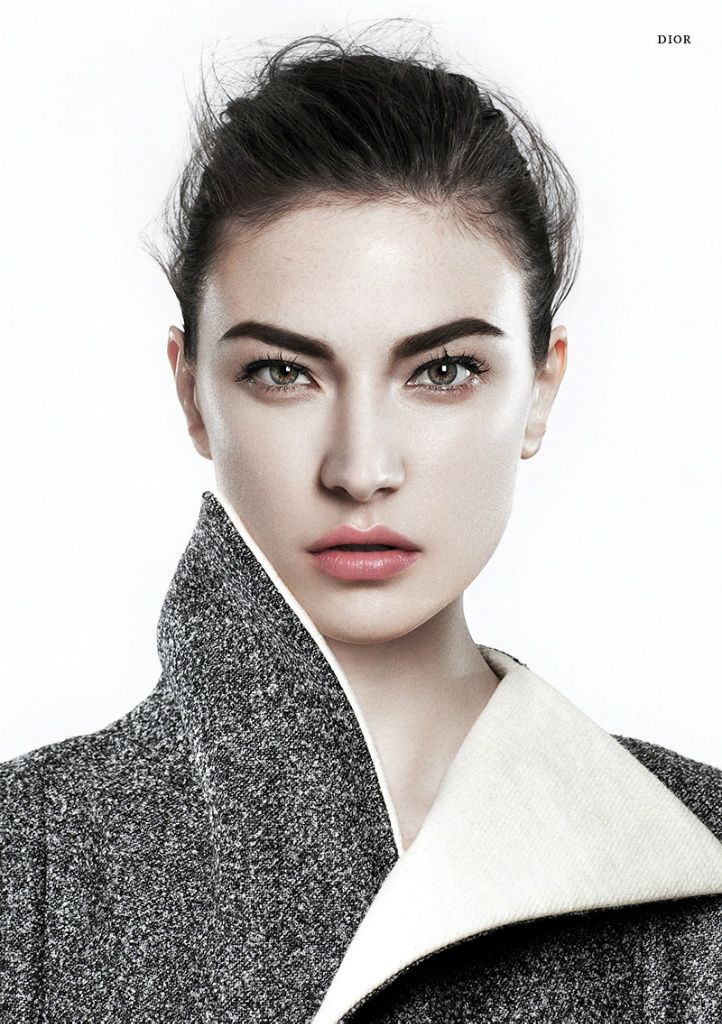 Pure Beauty! Jacquelyn Jablonski by Bojana Tatarska for Glass Magazine Autumn 2013
