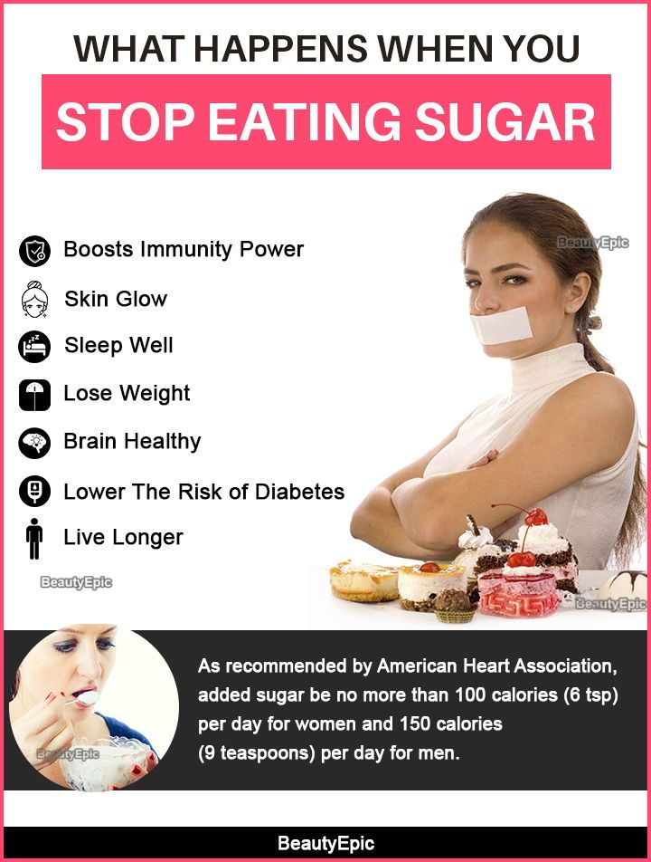 How fast do you lose weight if stop eating sugar
