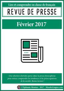 Revue de presse - Février 2017 | Mondolinguo - Français