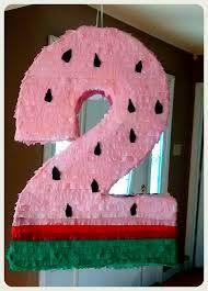 Resultado de imagen para piñata numero 1 sandia