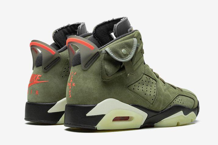 Air Jordan 6 X Travis Scott Aj6 Ts Green Red Black Cn1084 200 In 2020 Air Jordans Nike Air Jordan 6 Jordans