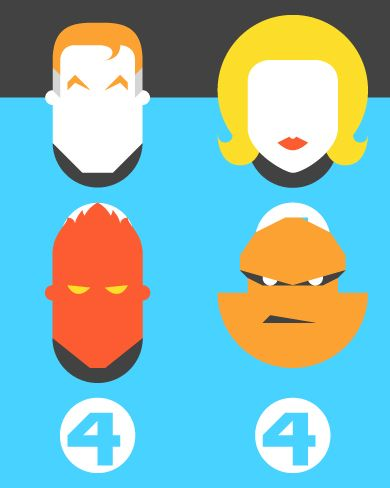 Form & Co - Re-Vision - Pop Culture Icons The Fantastic 4