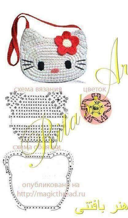Hello Kitty Täschchen für kleine Ladies.