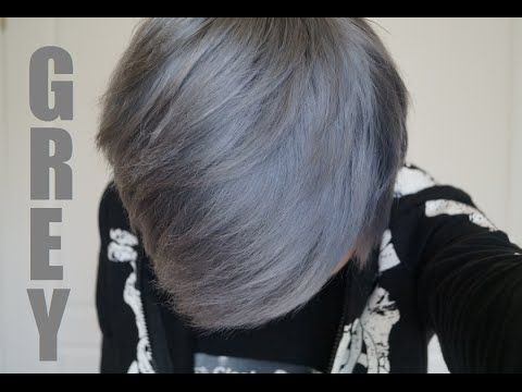 How to Dye Your Hair Silver/Grey: THE SAFE WAY - YouTube Using Wella Toner products