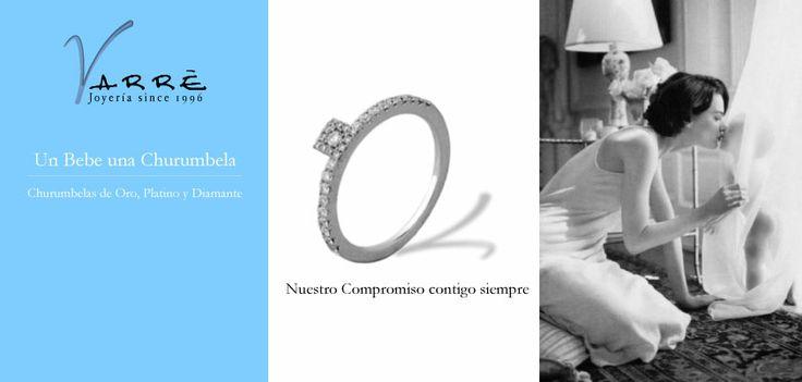 Nuestro compromiso contigo siempre♥  Dice mas una Churumbelas que mil palabras. #argollasdematrimonio #bodas #añonuevo #jueves #compromiso #eshoradedisfrutar #novia #novio #primavera #anillodecompromiso #joyería #descuentos #churumbelas #abril #parejas #diadelniño #eventos #eshoradecompartir #bodaclick #boda #amor #promociones #anillos #aretes #gargantillas #bebes #niños