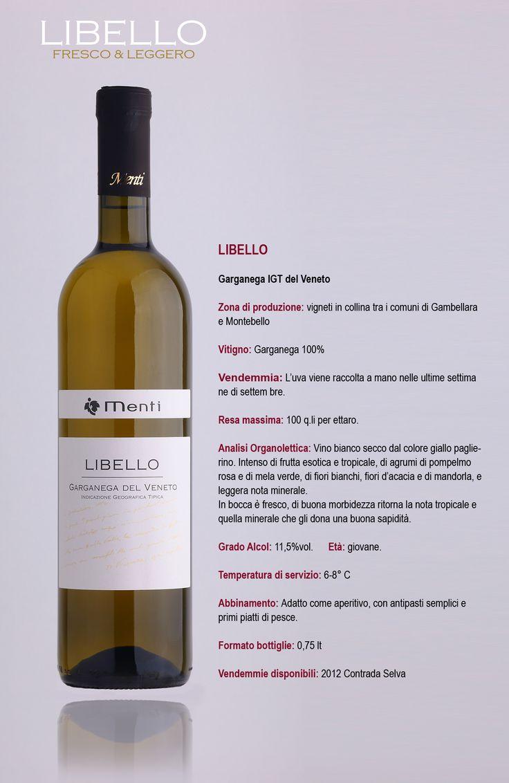 Libello Garganega del Veneto IGT  Azienda Menti Vini.  www.mentivini.it