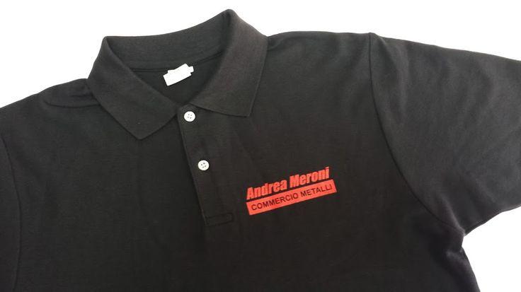 Gedshop - Polo con stampa serigrafa monocolore. http://www.gedshop.it/magliette-polo-personalizzate