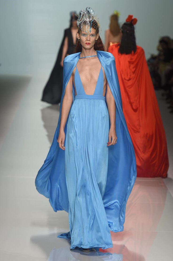 Fausto Puglisi for Emanuel Ungaro http://journal.fashionspyder.com/andam-paris-2014/