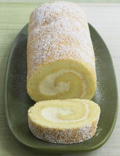 Lemon Jelly Roll Cake