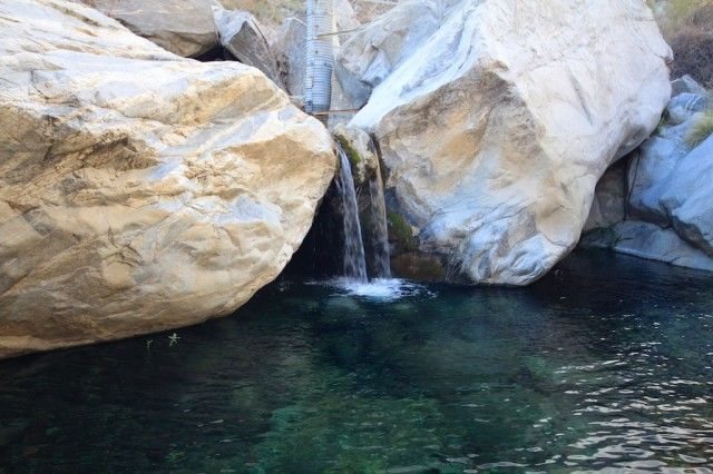 Tahquitz Falls, Palm Springs  $12 entry fee on tribal land  hiking guide