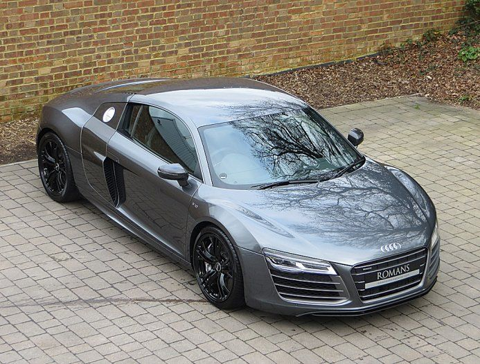 2014 Audi R8 V10 Plus S-Tronic Grey