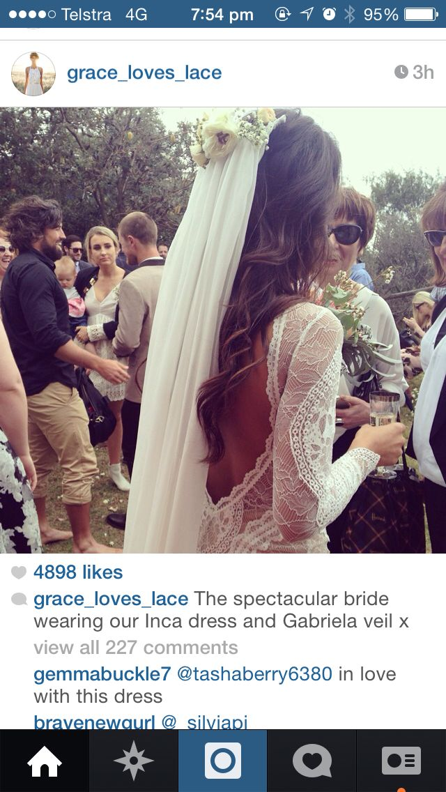 Grace loves lace inca dress | Bridal. Inspired. | Pinterest