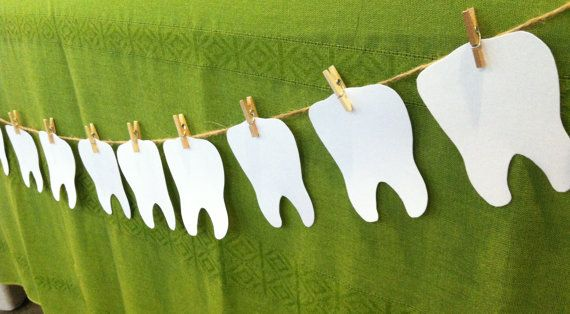 Tooth brushing reward banner chart by sweetclicks on Etsy, $18.00
