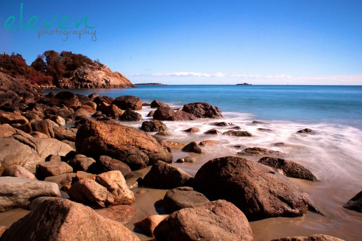 singing beach, manchester-by-the-sea, massachusetts, new england, beach, rocks, ocean, long exposure, photography, fine art print by elevenphotography on Etsy