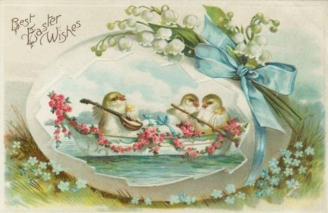 Пасхальные винтажные открытки. Обсуждение на LiveInternet - Российский Сервис Онлайн-Дневников