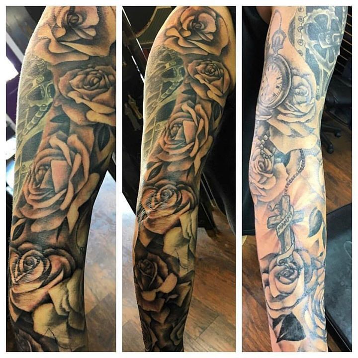 Tattoo by Shawn from Tattoo 20170601 Sleeve