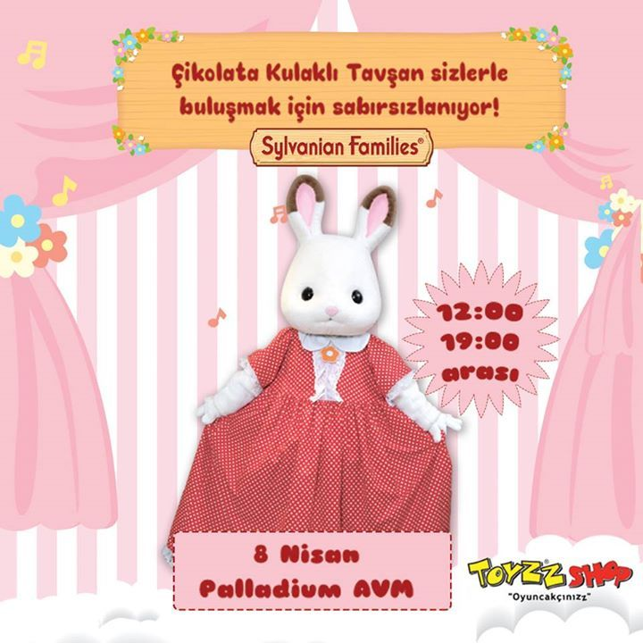 Sylvanian Families Artık Toyzz Shop'ta! Tanışmak için seni bu hafta sonu Toyzz Shop Palladium'a bekliyoruz. 🐰  https://www.toyzzshop.com/sylvanian-families  #Etkinlik #Palladium #SylvanianFamilies #fashion #style #stylish #love #me #cute #photooftheday #nails #hair #beauty #beautiful #design #model #dress #shoes #heels #styles #outfit #purse #jewelry #shopping #glam #cheerfriends #bestfriends #cheer #friends #indianapolis #cheerleader #allstarcheer #cheercomp  #sale #shop #onlineshopping…