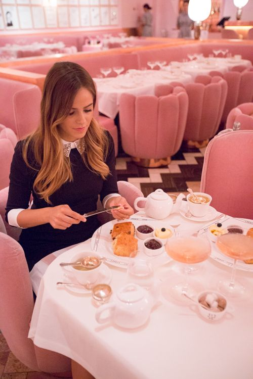 Afternoon Tea & Ted Baker - Gal Meets Glam- Buttering our pastries at Sketch in London