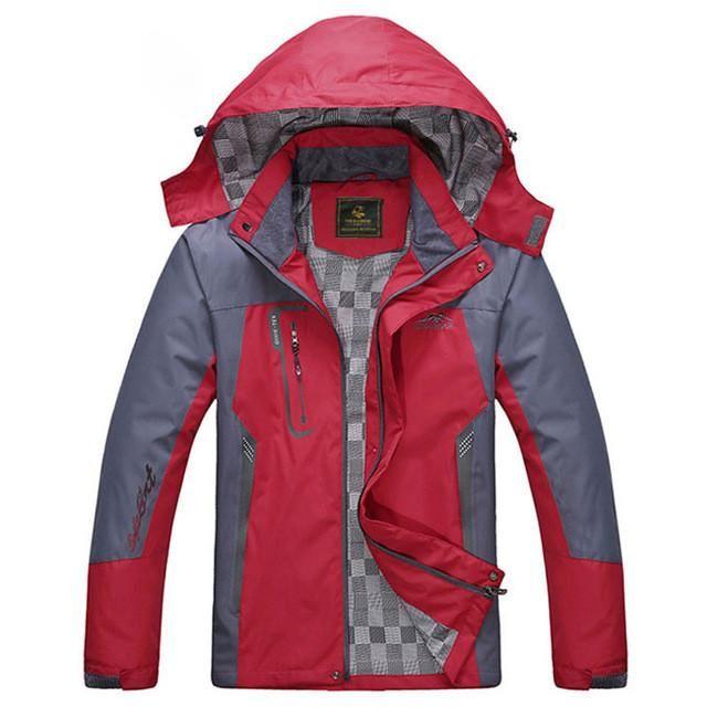 Men's Waterproof Windpoof Jacket / L-5XL