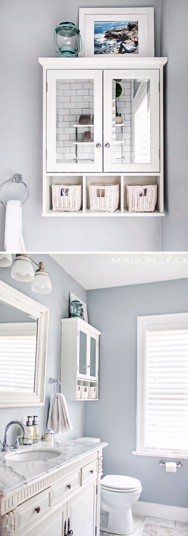 43 Over The Toilet Storage Ideas For Extra Space | Bathroom Ideas ...