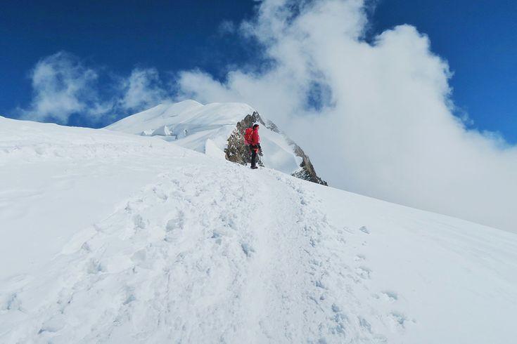 vedere varf mont blanc