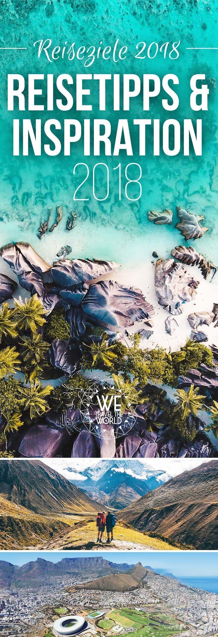Du suchst noch ein Reiseziel 2018? Kein Problem, wir haben dir in unserem Jahresrückblick 2017 die beste Reiseinspiration 2018 zusammen gestellt. Egal ob Seychellen, Florida Keys, Kirgistan oder Nepal – es ist garantiert für jeden etwas dabei! #reiseziele2018 #reiseinspiration #urlaub