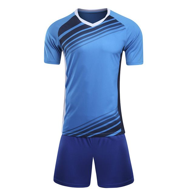 Professional Custom Adult 2017 Soccer Jerseys Set Uniforms Football Clothes Kit Cheap Breathable Football Shirt Tracksuit