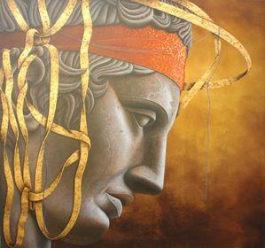 AGGELIDIS PASCHALIS ~ Αγγελίδης Πασχάλης * 1957 * Greek * http://www.paschalisart.com/images/stories/documents/book2.pdf ** portrait