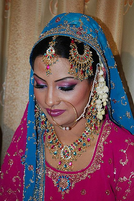 Flickr - Photo Sharing!  Gorgeous Indian bride! Aline